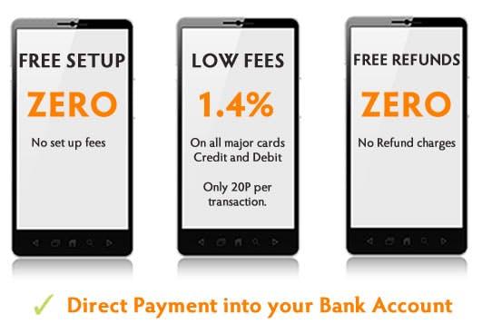 handling online card payments for dance studios